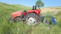 Takla Atan Traktör Sürücüsü Yaralandı