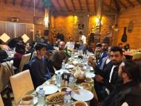 Ardahan'da Gazeteciler İftarda Buluştu