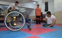 BEDENSEL ENGELLİ - Bedensel Engelli Bilek Güreşçinin Hedefi Dünya Şampiyonluğu