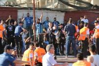 ADANA DEMIRSPOR - Hatayspor - Adana Demirspor Maçının Ardından Saha Karıştı