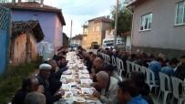 Köy Muhtarından 400 Kişilik İftar Yemeği