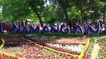 Özbekistan'da 59. Namangan Geleneksel Çiçek Festivali Başladı