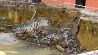 Sancaktepe'de İnşaat Çalışmasında Çökme