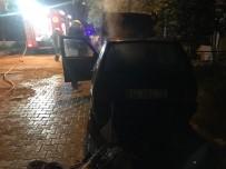 Tekirdağ'da Araç Yangını