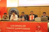 TÜRKIYE BASKETBOL FEDERASYONU - U-18 Erkekler Türkiye Basketbol Şampiyonası'nda Kuralar Çekildi