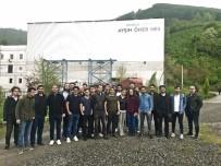 HİDROELEKTRİK - Aksu HES'e Düzce Üniversitesi Öğrencilerinden Ziyaret