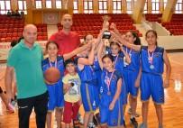 Basketbolda Şehit Halit Yaşar Mine Ortaokulu Şampiyon