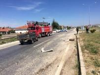 SADETTİN BİLGİÇ - Kamyonet İle Çarpışan Pat Pat Sürücüsü Hayatını Kaybetti