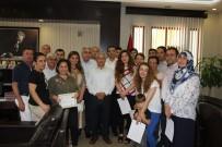 BAŞARI ÖDÜLÜ - Kaymakam'dan Nüfus Müdürlüğü Personeline Başarı Belgesi