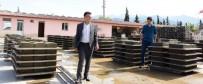 Alaşehir Belediyesi Bordür Taşını Kendisi Üretiyor