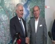 KADIR TOPBAŞ - Binali Yıldırım'dan Kadir Topbaş'a Ziyaret