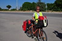 ERMENISTAN - Bisikletiyle Avrupa Turu Yapan İsviçreli Anna, Beyşehir'de Mola Verdi
