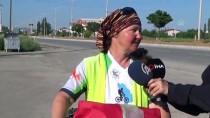 ERMENISTAN - Bisikletle İsviçre'den Beyşehir'e Geldi