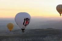 VODAFONE - Fikret Orman, Beşiktaş Balonuyla Kapadokya Semalarında Tur Attı