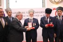 SAKARYA VALİSİ - Kıbrıs Gazilerine Milli Mücadele Madalyası Ve Beratı Verildi