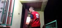 Kızılay Düzce Şubesi Yığılca'da Ramazan Kolisi Dağıttı