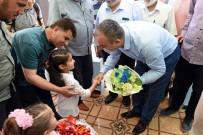 GÜVENLİ BÖLGE - Vali Soytürk, Suriye'de Açılışlara Katıldı