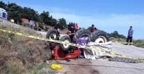 Devrilen Traktörünün Altında Kalarak Hayatını Kaybetti