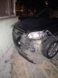 Maddi Hasarlı Kaza Araç Kamerasına Yansıdı