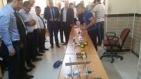 METEM Mesleki Teknik Anadolu Lisesinde Yıl Sonu Sergisi Açıldı