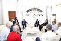 SERVİSÇİLER ODASI - Minibüsçü Esnaflarından Başkan Gürkan'a Ziyaret