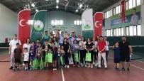 ERTUĞRUL SAĞLAM - Osmangazi'de 14 Yaş Tenis Heyecanı Sona Erdi