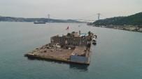 DOLMABAHÇE SARAYı - (ÖZEL) Galatasaray Adası Sökülmeye Başlandı