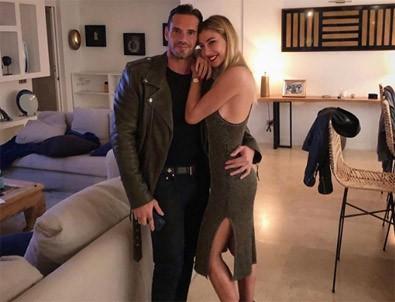 Şeyma Subaşı ile sevgilisi Guido Senia'dan aşk pozu