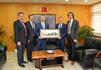 ALINUR AKTAŞ - Aktaş'tan Yeni Rektör Kılavuz'a Hayırlı Olsun Ziyareti