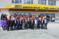 Aşkale Nenehatun Mesleki Ve Teknik Anadolu Lisesi 'Yıl Sonu Sergisi' Açıldı