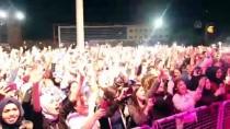 Grup Gece Yolcuları Kilis'te Konser Verdi