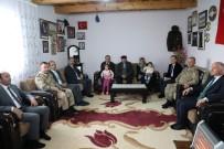 Kars Valisi Türker Öksüz, Şehit Ailelerini Ziyaret Etti