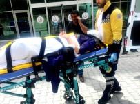 Konya'da Afganların İçinde Bulunduğu Otomobil Takla Attı Açıklaması 5 Yaralı