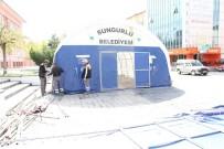 Sungurlu Belediyesi İftar Çadırı Kuruyor