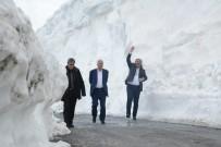 Türkiye'nin En Büyük Kalderasında Kar Kalınlığı 8 Metre