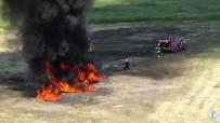 KOCA SEYİT - Uçak Kazası Tatbikatı Başarı İle Gerçekleştirildi