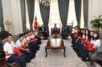 Vali Soytürk'e Türkiye İkincisi Olan Halk Oyunlarından Ziyaret