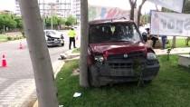 MERINOS - Adıyaman'da Trafik Kazası Açıklaması 4 Yaralı