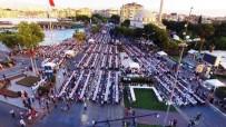 MEHTERAN TAKıMı - Aydın'da Fetih Şöleni'nde 10 Bin Kişiye İftar Yemeği Verildi