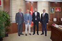 ÇOCUK GELİŞİMİ - Başkan Ensari'den Rektör Şevli'ye Ziyaret