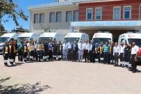 Elazığ'da Yeni 6 Ambulans Hizmete Girdi