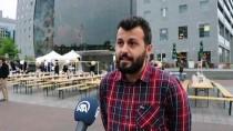 ROTTERDAM - Hollanda'da Üniversitelilerden Şehir Merkezinde Sokak İftarı