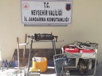 Kapadokya'da Kaçak Kazı Yapan 5 Kişi Yakalandı