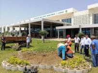 KOCA SEYİT - Koca Seyit Havalimanı Bayram Öncesi Adeta Çiçek Açtı