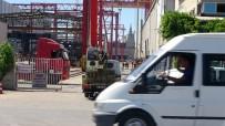 (Özel) Tuzla'da Tersanede Feci İş Kazası
