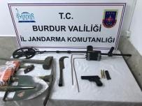 Burdur'da Kaçak Kazıya Suçüstü