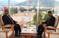 ADNAN MENDERES ÜNIVERSITESI - Denizli Cumhuriyet Başsavcısından Rektör Aldemir'e Ziyaret