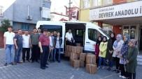 Devrekli Öğrencilerden İhtiyaç Sahibi Ailelere Gıda Yardımı