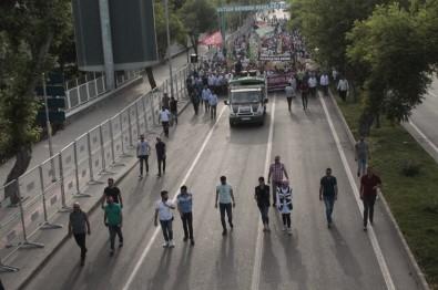 Diyarbakır'da 'Dünya Kudüs Günü' Yürüyüşü Yapıldı