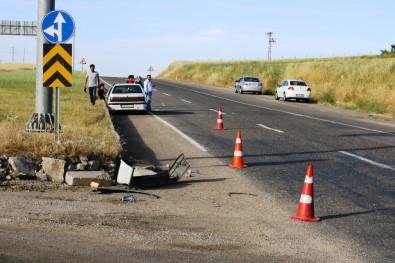 Diyarbakır'da Trafik Kazası Açıklaması 4 Yaralı